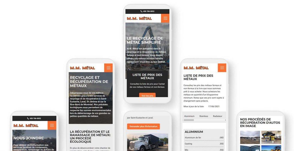 refonte web responsive